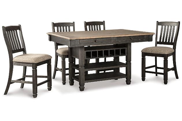 Tyler Creek 5-Piece Counter Height Dining Set, , large