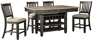 Tyler Creek 5-Piece Dining set, , large