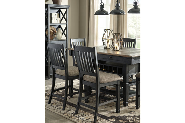 Tyler Creek Counter Height Dining Table and 4 Barstools, , large