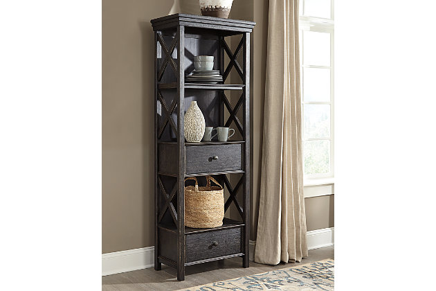 Tyler Creek Display Cabinet Ashley Furniture Homestore