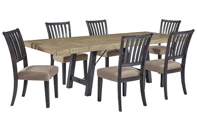 Baylow Dining Table and 6 Chairs, , large