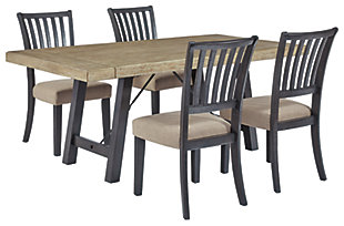 Baylow Dining Table and 4 Chairs, , large
