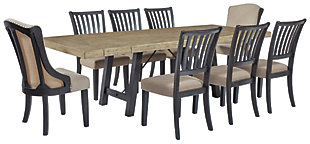 Baylow Dining Table and 8 Chairs, , large