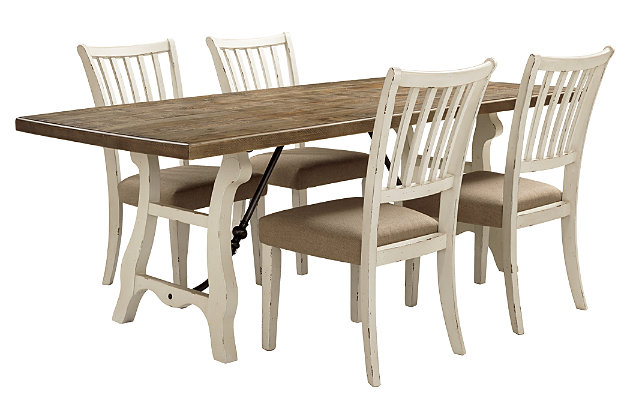 Dazzelton 5-Piece Dining Room, , large