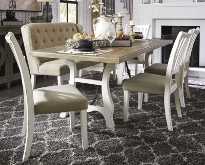 Picture of: Dazzelton Dining Room Table Ashley Furniture Homestore