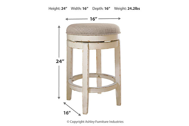 Realyn Counter Height Bar Stool, , large