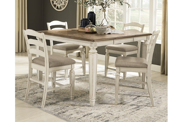 Realyn Counter Height Dining Table Ashley Furniture Homestore