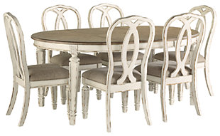 Realyn Dining Table and 6 Chairs, , large