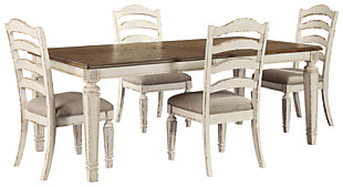 Realyn Dining Table and 4 Chairs, , rollover
