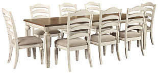 Realyn Dining Table and 8 Chairs, , rollover