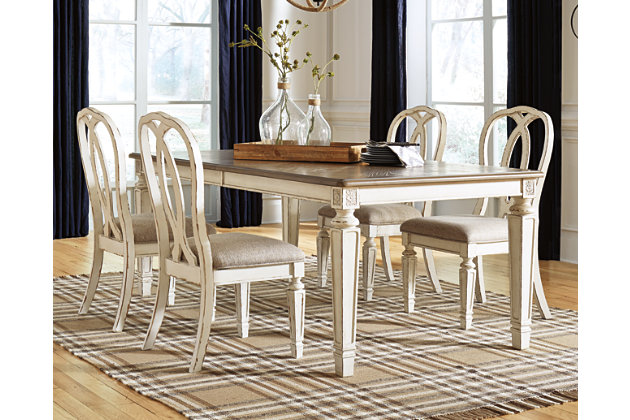Realyn Dining Room Extension Table | Ashley Furniture HomeStore