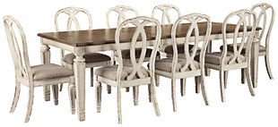 Realyn Dining Table and 8 Chairs, , large