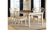 Realyn Dining Room Extension Table, , rollover