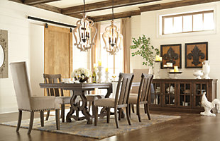 Wendota Dining Table and 6 Chairs, , rollover
