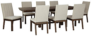 Dellbeck Dining Table and 8 Chairs, , large