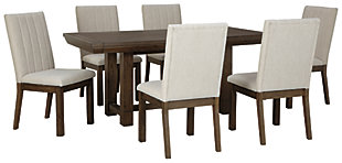 Dellbeck Dining Table and 6 Chairs, , large