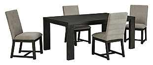 Bellvern Dining Table and 4 Chairs, , large