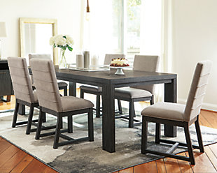 Bellvern Dining Table and 6 Chairs, , rollover