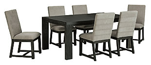Bellvern Dining Table and 6 Chairs, , large