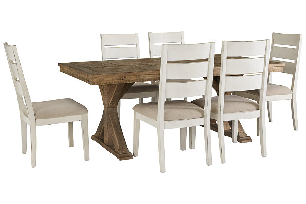 Grindleburg Dining Table and 6 Chairs, , large
