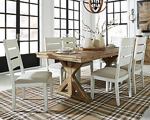 Grindleburg Dining Table and 6 Chairs, , rollover