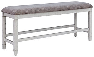 Teganville Counter Height Dining Room Bench, , large