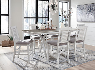 Teganville Counter Height Dining Room Table, , large