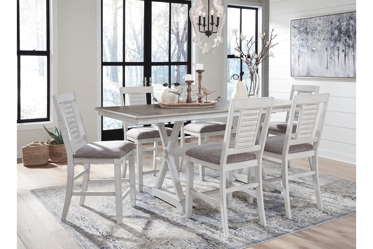 Counter Height Dining Extendable Table Ashley Furniture Homestore