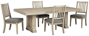 Hennington Dining Table and 4 Chairs, , large