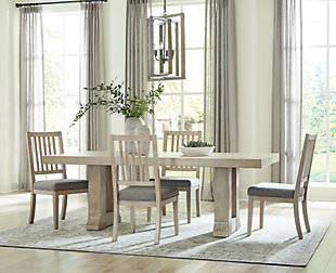Hennington Dining Table and 4 Chairs, , rollover