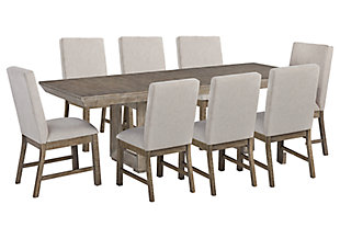 Langford Dining Table and 8 Chairs, , large