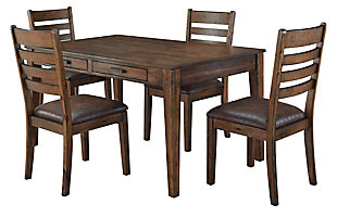 Royard Dining Table and 4 Chairs, , large
