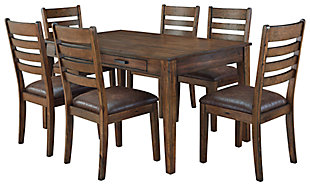 Royard Dining Table and 6 Chairs, , large