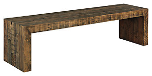 "Sommerford 65"" Dining Room Bench, , large"