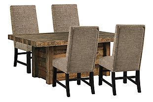 Sommerford Dining Table and 4 Chairs, , large