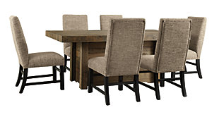 Sommerford Dining Table and 6 Chairs, , large