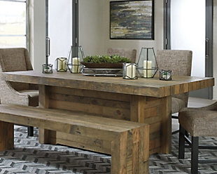 ... large Sommerford Dining Room Table  rollover & Kitchen \u0026 Dining Room Furniture | Ashley Furniture HomeStore