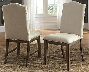 Johnelle Dining Room Chair, Beige, rollover