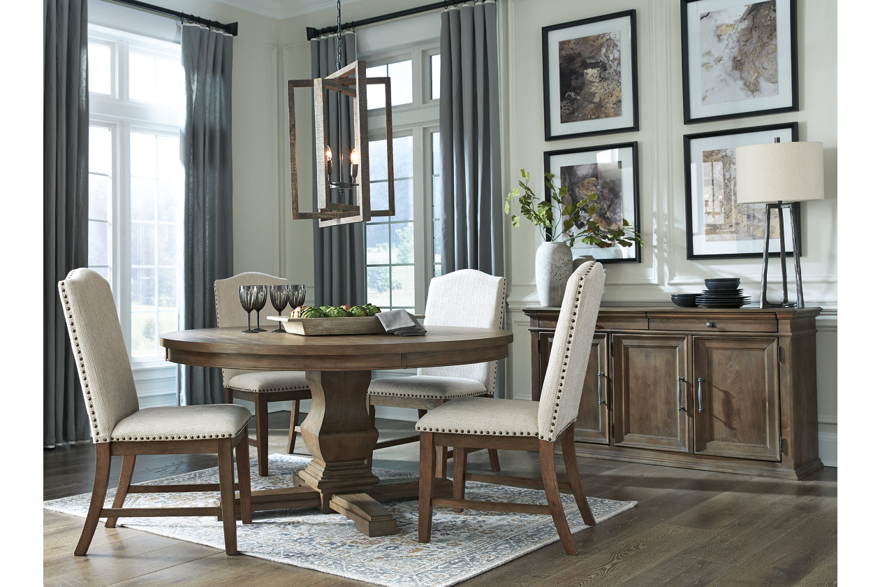 Johnelle Dining Table   Ashley Furniture HomeStore
