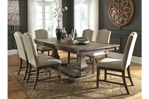 Johnelle Dining Table and 6 Chairs, , large