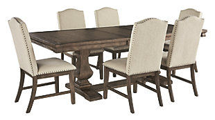 Johnelle 7-Piece Dining Room, , large