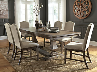 Johnelle Dining Table and 6 Chairs, , rollover