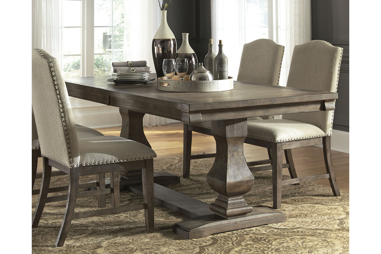 Johnelle Dining Room Extension Table | Ashley Furniture ...