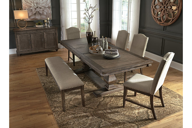 Johnelle Single Dining Room Chair, Beige, large