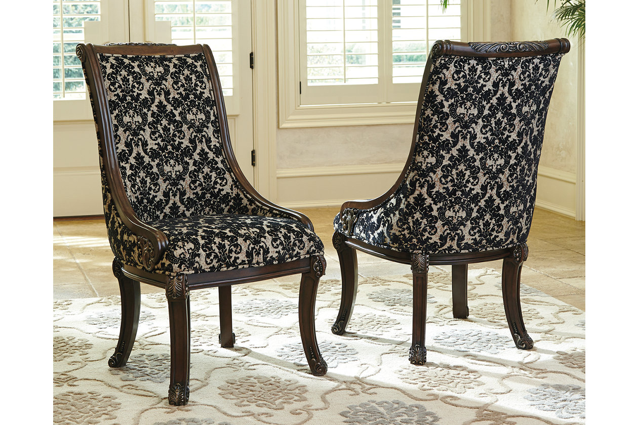 Wondrous Valraven Dining Room Chair Ashley Furniture Homestore Gamerscity Chair Design For Home Gamerscityorg
