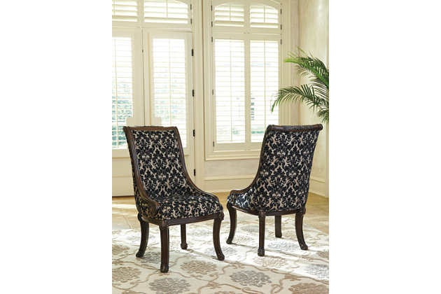 Valraven Dining Room Chair Ashley Furniture Homestore