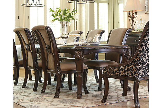 Ashley North Shore Dark Brown Dining Room Buffet