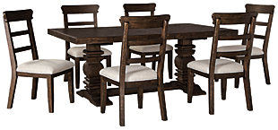 Hillcott Dining Table and 6 Chairs, , large