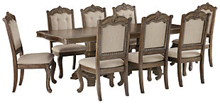 Charmond Dining Table and 8 Chairs, , large