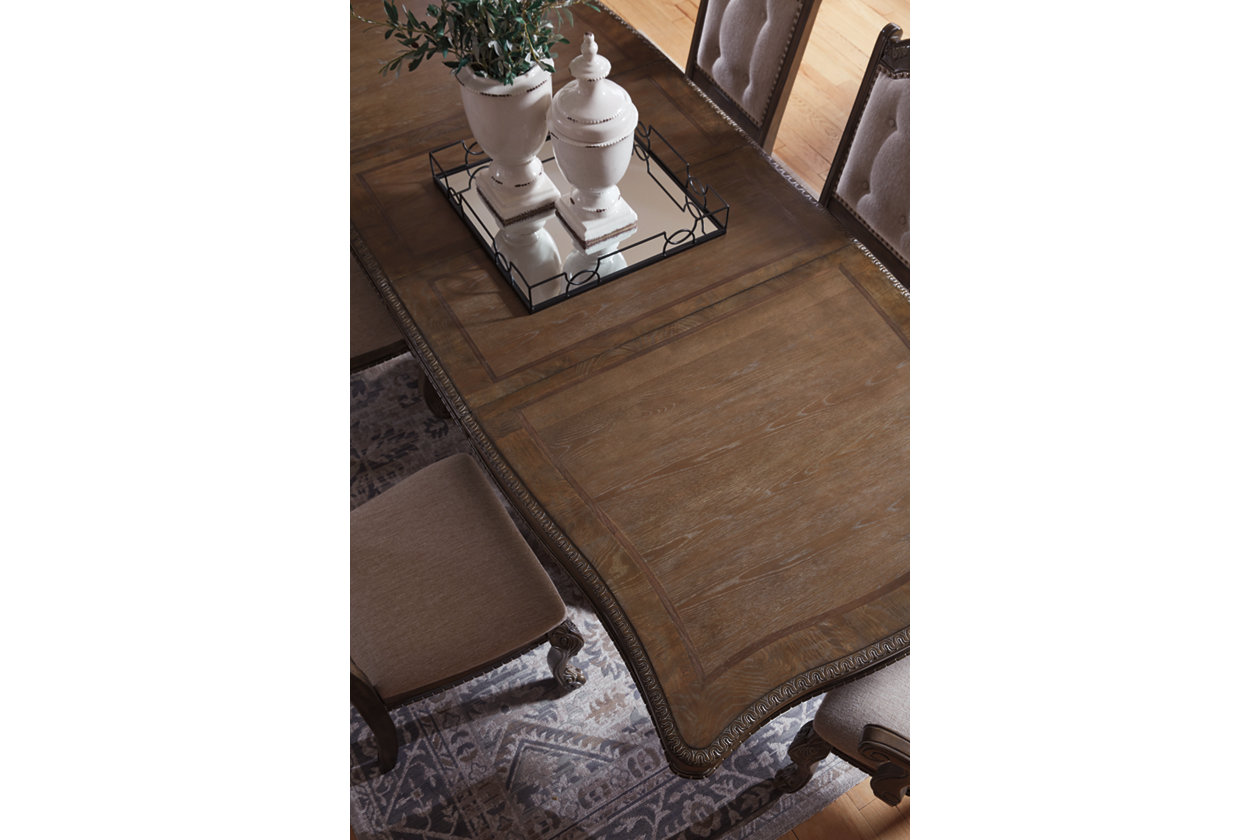 Charmond Dining Table And 8 Chairs Set Ashley Furniture Homestore
